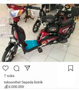 Sepeda listrik folding