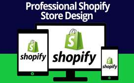 Design shopify store or setup shopify website design