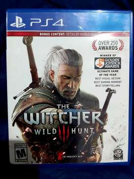 CD Game OriginalPS4 The Witcher Wild Hunt