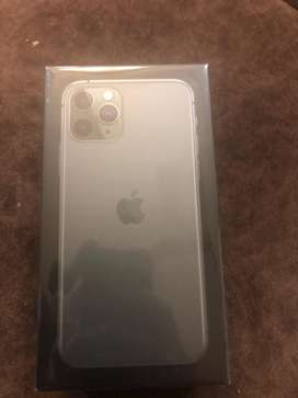 Iphone 11 pro sealed pack 64gb green color