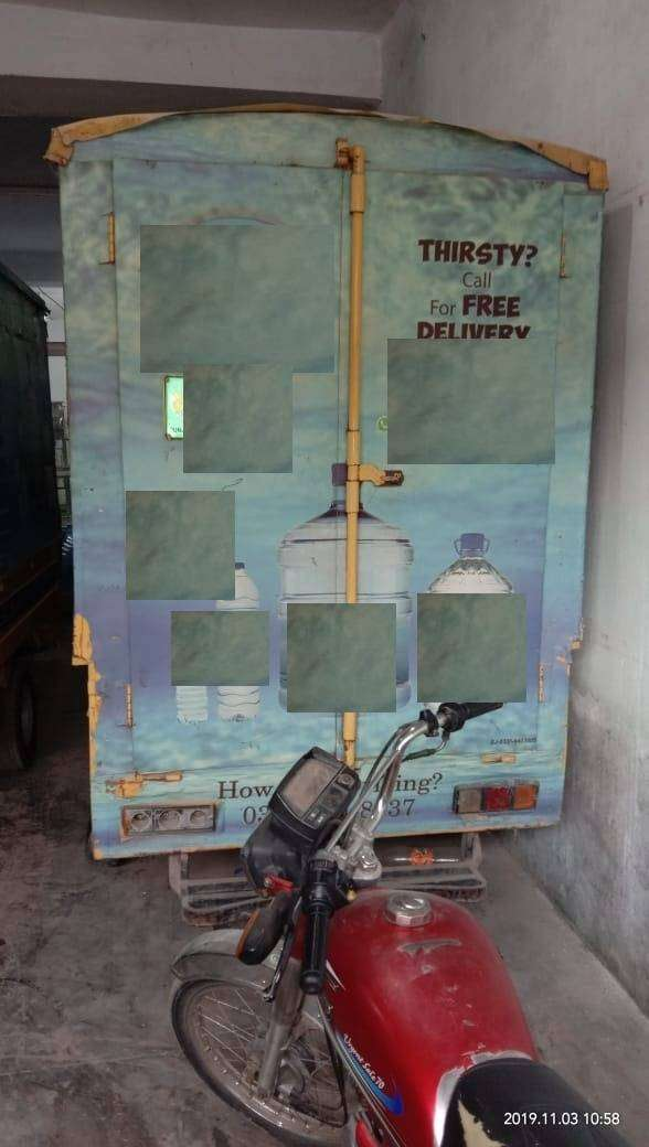 Used Loader Rickshaw 150cc with Rigistration for Sale 0