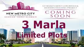 New Metro City 3 Marla Lowest Rate