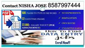 No Fake Comment Guarantee Income Salary Data Entry Part Time Frame