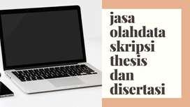 jasa olahdata cepat (skripsi, thesis disertasi) semua jurusan