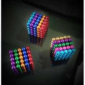 Color Magnetic Ball / 125 Bola Magnet 5MM Warna warni