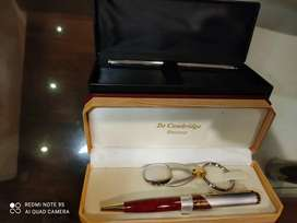Two High Quality Ballpoint Pens in Wooden Gift Boxes