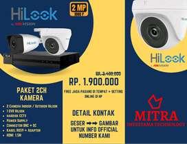 Paket HILOOK CCTV Ultra HD, SANGAT JELAS & TAJAM, NO BLUR