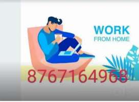 Simple work for everyone  at home based job...
