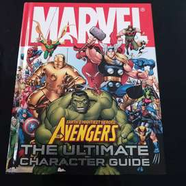 "Buku Marvel Avengers ""The Ultimate Character Guide"" hard cover"