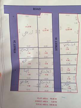 4 Marla plot for sale on GT Road, Peshawar