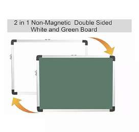 Combo writing Board Green + White ( greenboard and whiteboard)