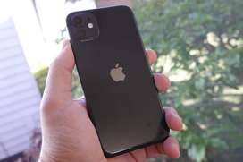 Apple iPhone 11 (128 GB,Black).