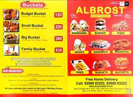 Fast Food business in mira road