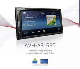 Head Unit Doubledin Pioneer AVH A315BT New