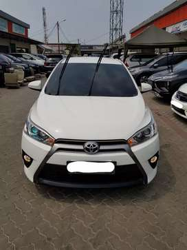 Toyota Yaris G A/T Thn 2017 Putih