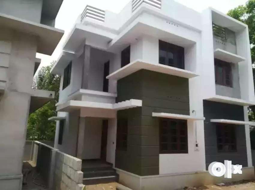 3 bhk 1200 sqft 3 cent new build house at kalamassery near muppathadam 0