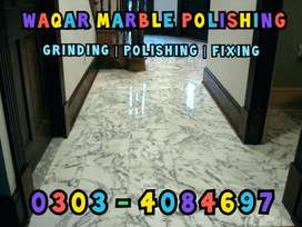 Experts Of Marble Polishing, Marble Grinding & Marble Fixing in Lahore