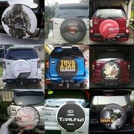 Cover/Sarung Ban Jeep/Rush/Terios/Touring/Ecosport/Keren pahlawan rupi
