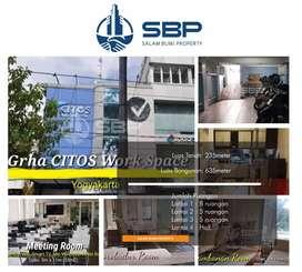 Dijual Gedung Graha Chitos Connection dkt Kraton,Alun2,Malioboro