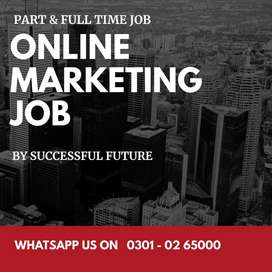 BFES offer you a Digital Marketing online job at home for unemployed