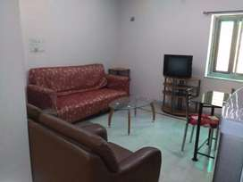 AC fully furnished 1 BHK flat in New Alipore for rent