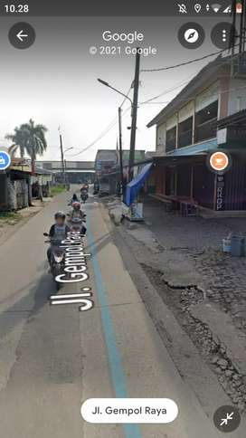 Kios ruko disewakan Gempol Kunciran Cipete Pinang Tangerang