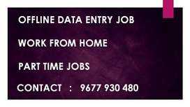 Work From Home OFFLINE DATA ENTRY TYPING Jobs. Work In Ur Leisure Time