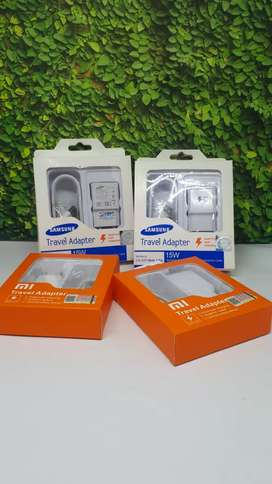 Grosir charger samsung & xiaomi fast charging