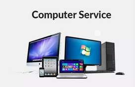 Computer service at door step