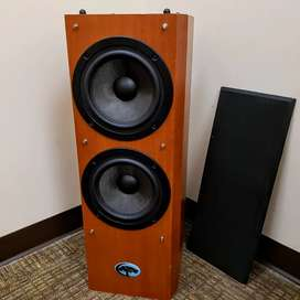 Cypress PSW8-2 Home Audio Tower Subwoofer - 250 Watts
