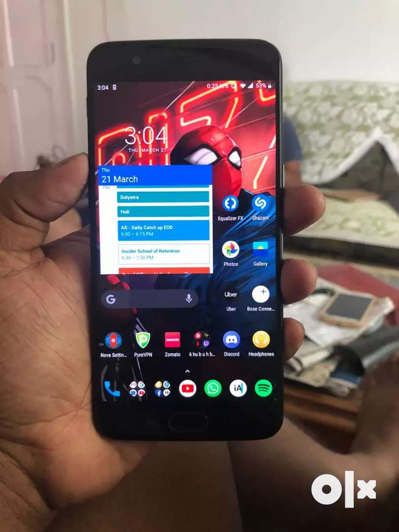 OnePlus 5. Well maintained, 18 months old. 0