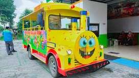 jual odong kereta mini wisata spongebob kuning