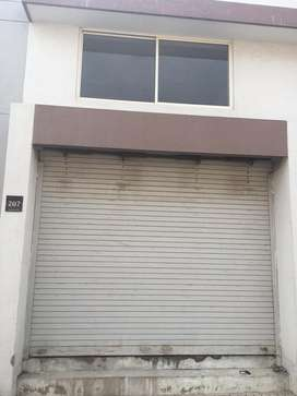 For rent office and godown