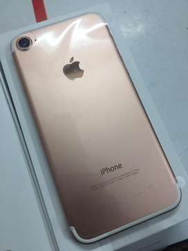We are selling iphone 7 32gb with bill box 6month sellers warranty