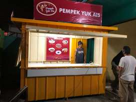 BOOTH CONTAINER murmer n mewah.