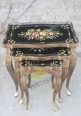 Hand painting antique set