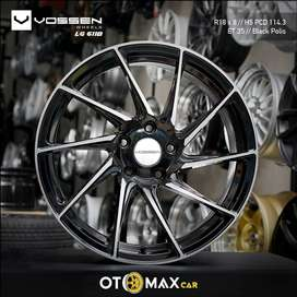 Velg Mobil Vossen LG61 Ring 18 Black Polish