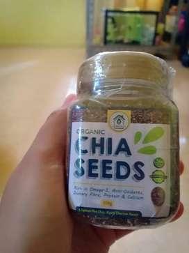 Chia seeds dan himalaya pink salt