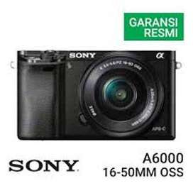 Sony Alpha A6000 Kit 16-50mm - 24Mp Garansi Resmi Sony