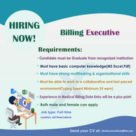 Medical Billing Executive
