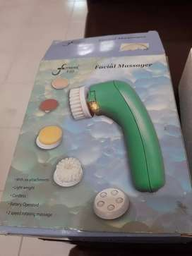 facial massager full set lengkap