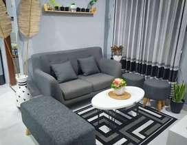 sofa selonjor retro