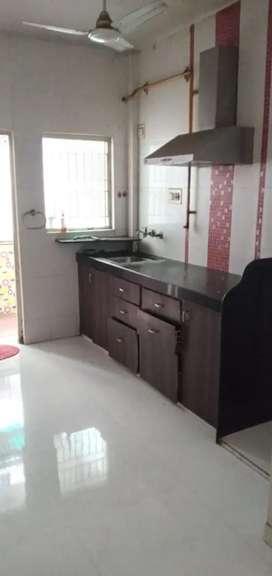 Beautiful 2 bhk semi furnished flat near Mavdi Circle