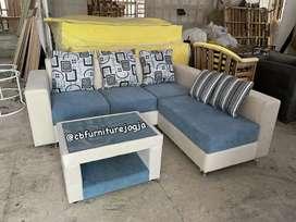 Sofa settamu model Baru, 4 kombinasi warna