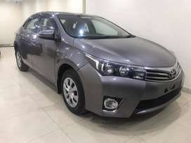 Toyota Corolla 2015onEasy EMI Process 20%D.P One Step Solution Pvt.Ltd