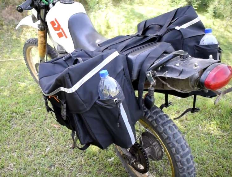 Saddle Bags for motorcycle touring Bags Riding Bags - SB-1 0