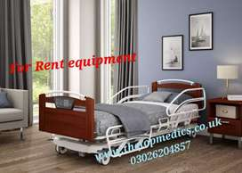 Hospital Bed Electric ON Rent Home use