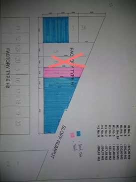 Lot Land / Kapling Lahan Industri