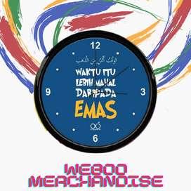 Jam Dinding Lucu Online berkualitas dengan harga murah terbaru