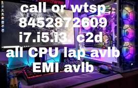 Gaming cabinet cor i5 processors 4 GB ram 250 hard disk only cpu